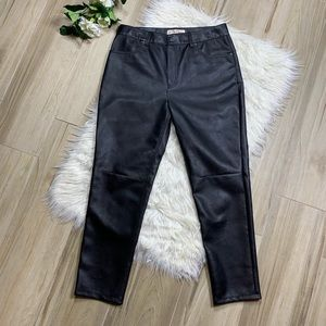 NEW Free People [We The Free] Faux Leather Pants